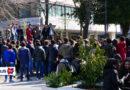 Manifestazione in difesa dell'Istituto Agrario