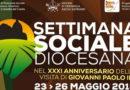 Settimana Sociale Diocesana, Palazzo Coccia 23-36 maggio