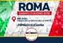 Anche i cinque stelle di Cerignola domani in Piazza a Roma