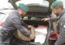 Sorpreso con 48kg di marijuana, arrestato corriere della droga