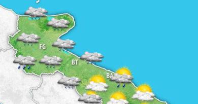 Previsioni meteo per mercoledì 27 marzo