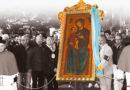 Il vescovo Luigi Renna presiede il pellegrinaggio con l'icona della Madonna di Ripalta